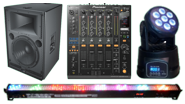 Sound / Lighting / Audio Visual Equipment Rental