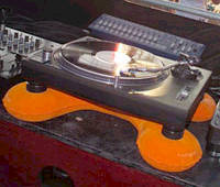Freefloat Turntable Cushion